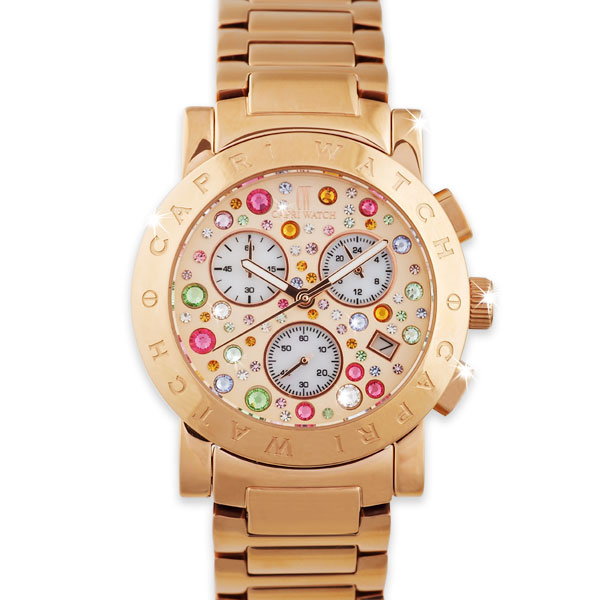 Chrono Paola Multijoy Rose Gold