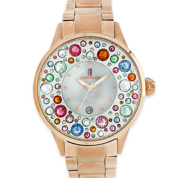 Watch Millefiori All Steel Rosé