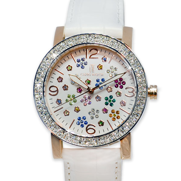 Art. 5328 Watch XX Colored Flowers