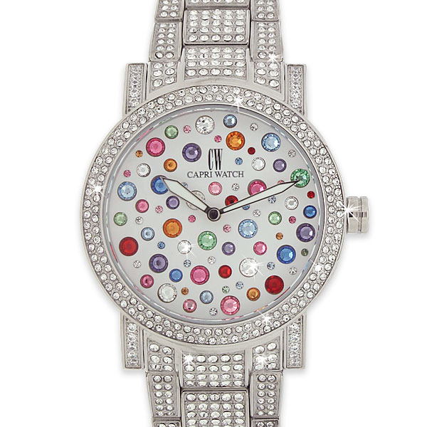 Watch Multijoy 38 Lux Full Zircons Steel