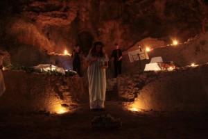 La grotta di matermania