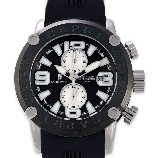 Chrono Rocks Black Silver