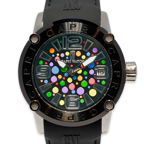 Watch Rocks Circle Black