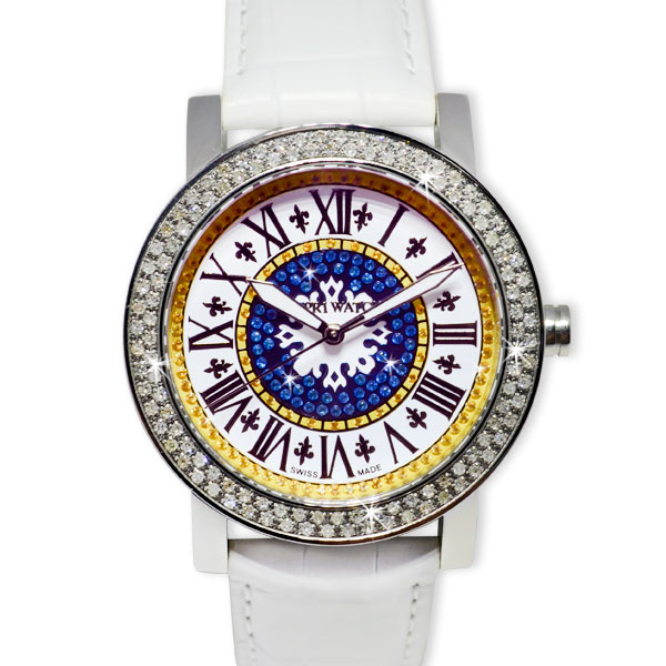 Watch Lux Multijoy Roman Number and Diamonds