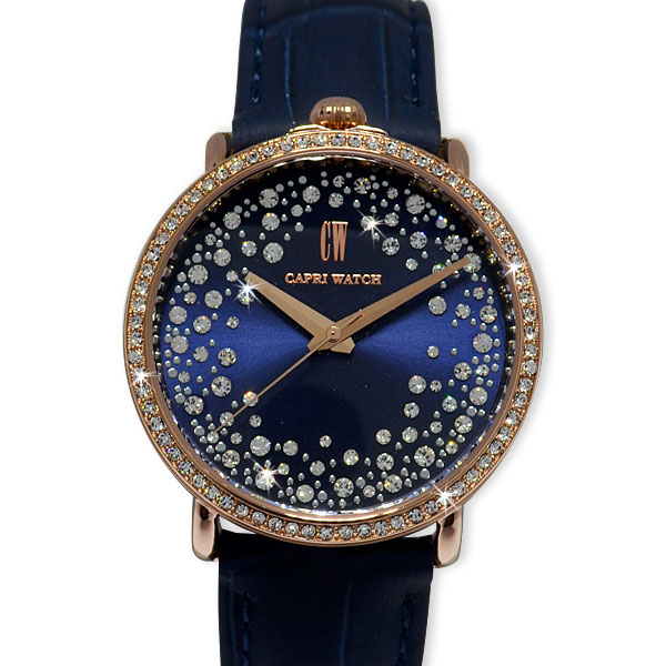 Watch Light Storm Gold Rosé Blue