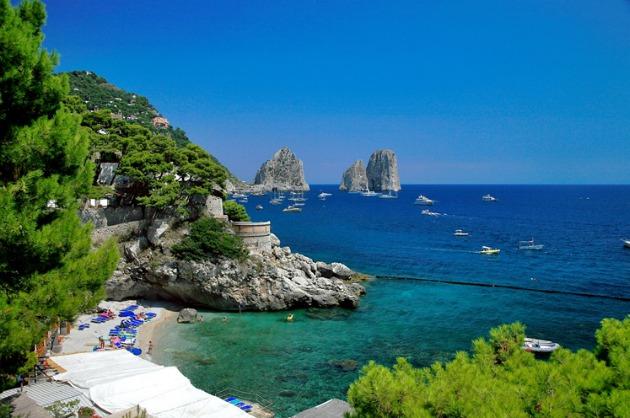 Dove guardare alba e tramonto a Capri