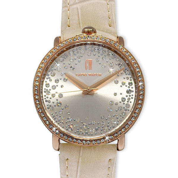 Watch Light Storm Gold Rosé Cream