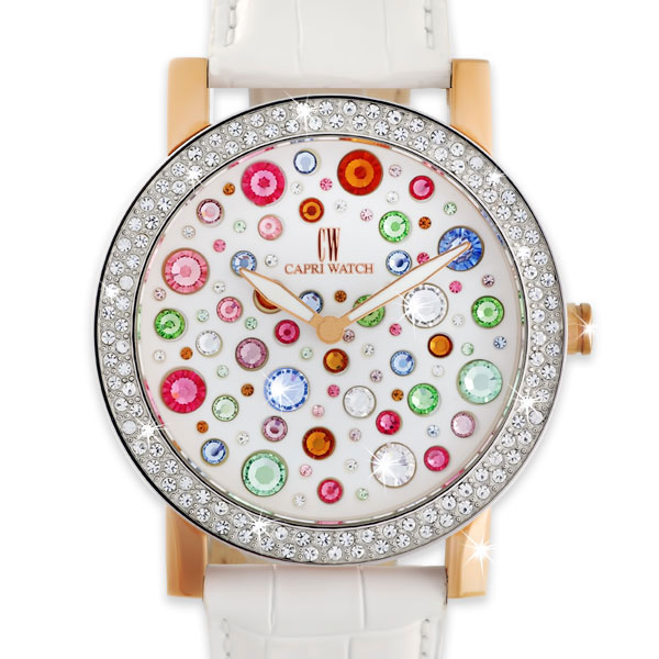 Watch Multistrass Joy Bimetal White