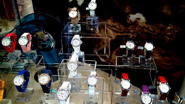 gruppo di orologi a capri