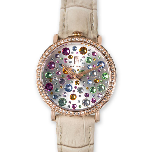 Watch Retrò Storm Beige Gold