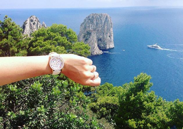 Selfie a Capri