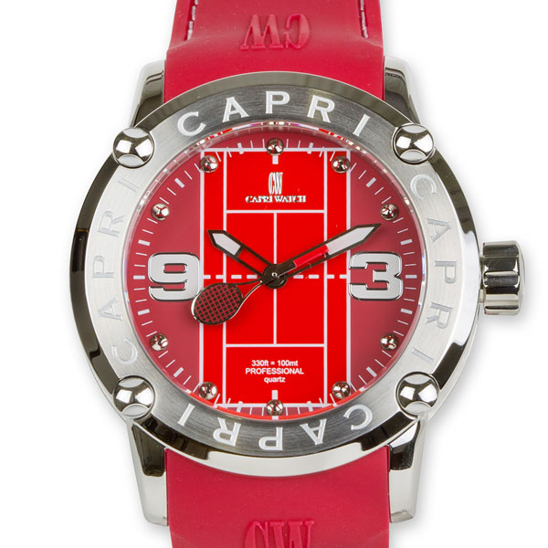 Watch Capri Tennis Red