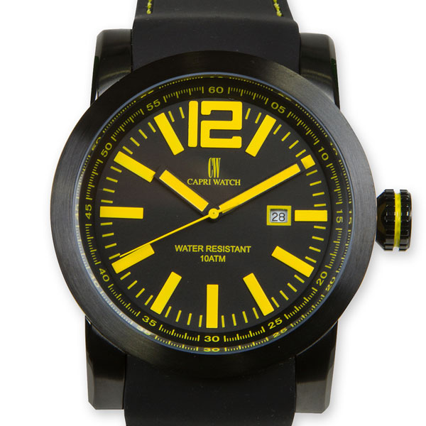 Watch Karboncolor Yellow