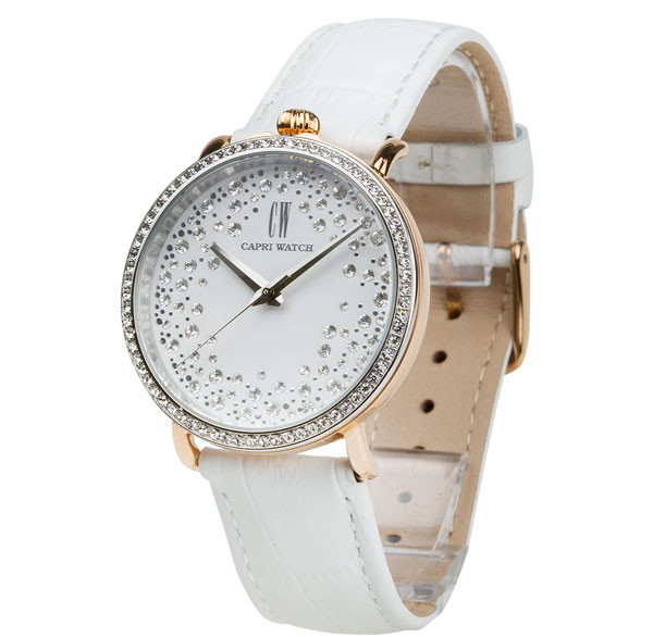 Watch Retrò Storm Bimetal White