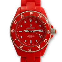 orologio rosso