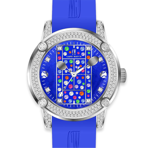 Watch Tennis Lady 38 MultiJoy Blue Royal