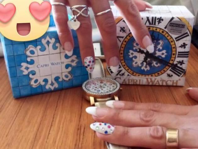 Capri Watch e unghie