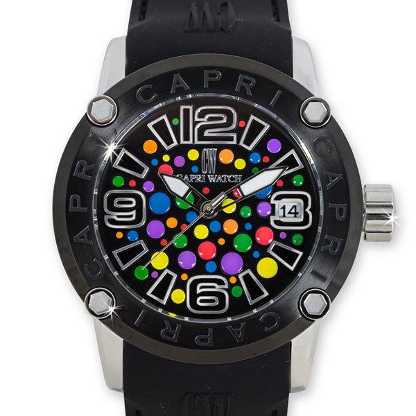 Watch Rocks Circles Black