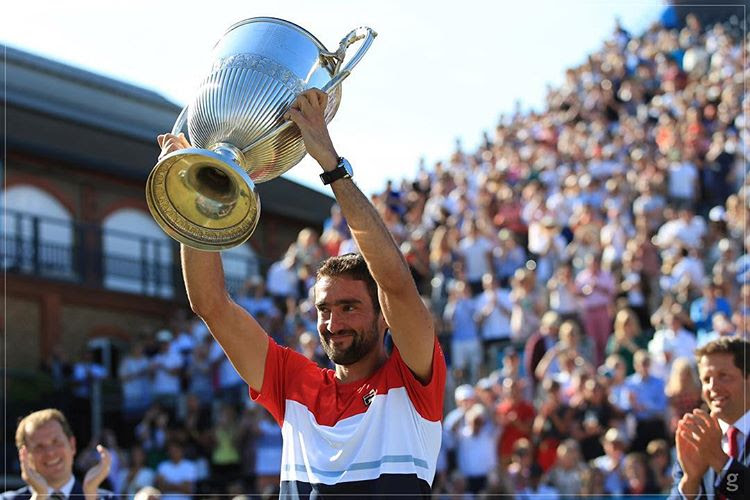 Marin Cilic conquista l'ATP Queen's 2018