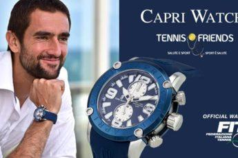 Tennis capri watch