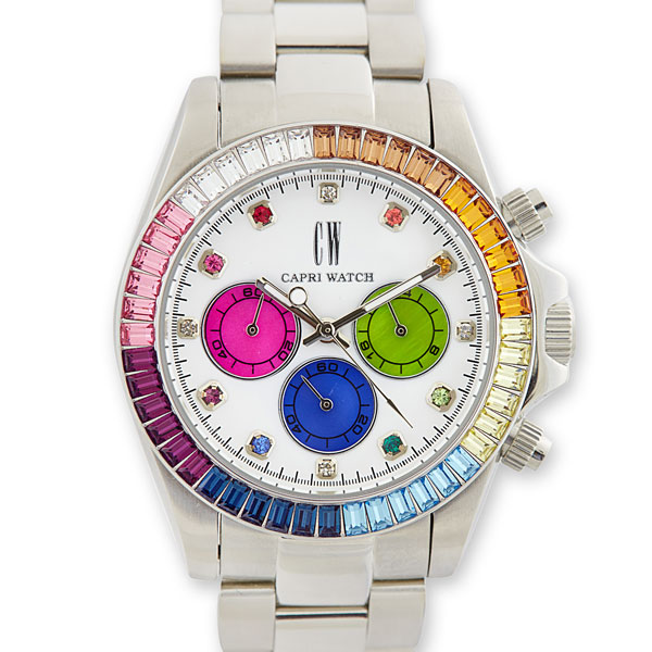 Chrono Iris Bezel White-Color