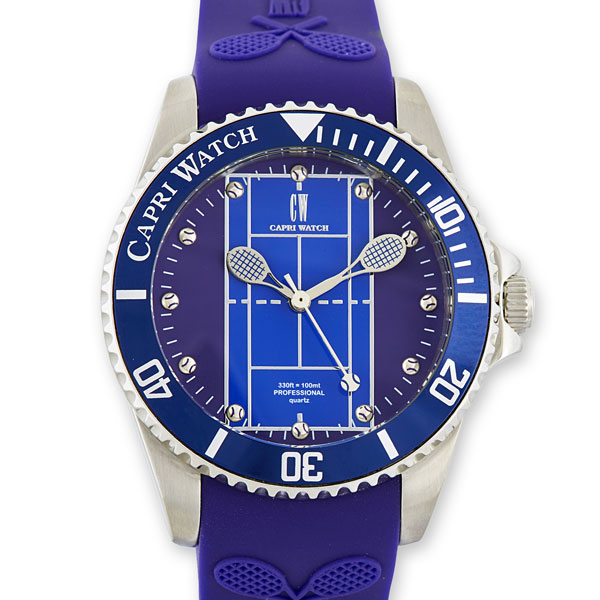 Watch Tennis Stainless Steel Blue