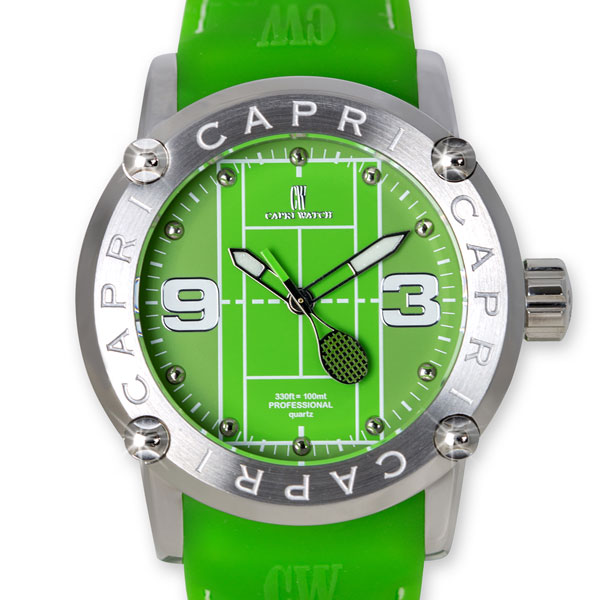 Watch Capri Tennis 45mm Green