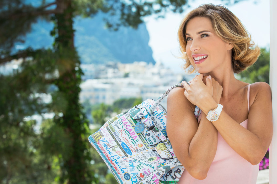 Capri Watch Fashion: elegant and Joyful